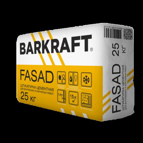 ШТУКАТУРКА BARKRAFT FASAD цементная