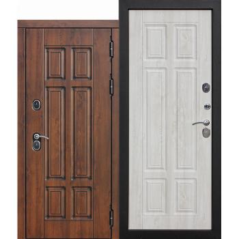 Входная морозостойкая дверь c ТЕРМОРАЗРЫВОМ 13 см Isoterma МДФ/МДФ Сосна белая