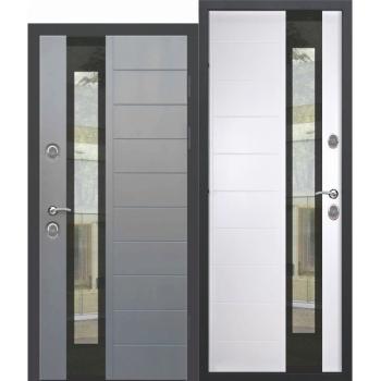 Входная дверь c ТЕРМОРАЗРЫВОМ 12,5 см ISOTERMA Стеклопакет Эмаль